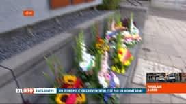 RTL INFO 19H : Contrôle de police qui tourne mal à Liège: réaction des policiers