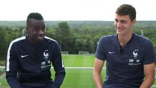 Equipe de France : Matuidi - Pavard : l'interview décalée en intégralité
