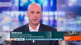 RTL INFO 19H : Contrôle de police qui tourne mal à Liège: réaction de Vincent Gilles