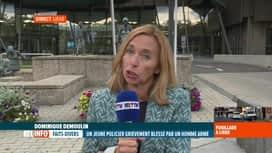 RTL INFO 19H : Contrôle de police qui tourne mal à Liège, infos en direct