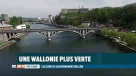RTL INFO 19H : Accord de gouvernement: vers une Wallonie plus verte