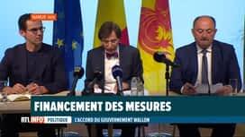 RTL INFO 19H : Comment la Wallonie va-t-elle financer ses nouveaux projets ?