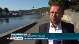 RTL INFO 19H : Gouvernement wallon: le programme par le PTB et cdH
