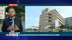 RTL INFO 19H : Le point sur l'état de santé du policier grièvement blessé à Liège