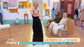Les Reines du Shopping : le défilé de Dasha : la robe décolleté !