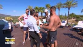 """Les Marseillais vs le Reste du monde : Sebastien à Illan : """"Tu es un charo !"""""""