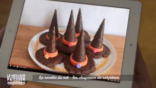 Les recettes du net : les chapeaux de sorcière !