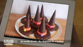 Le meilleur pâtissier : à vos fourneaux : Les recettes du net : les chapeaux de sorcière !