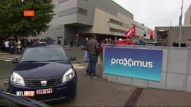 RTL INFO 19H : Plusieurs actions de grève spontanées chez Proximus