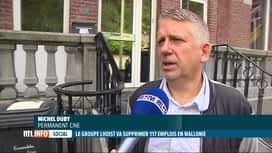 RTL INFO 19H : Le groupe Lhoist annonce un plan de restructuration
