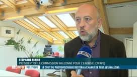RTL INFO 19H : Tous les Wallons paieront les panneaux photovoltaïques