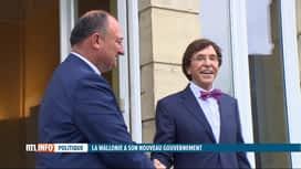 RTL INFO 19H : Gouvernement wallon: passation de pouvoir cet après-midi à l'Elysette