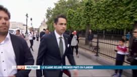 RTL INFO 19H : Baromètre politique: éclairage sur le succès du Vlaams Belang au nord