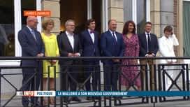 RTL INFO 19H : Gouvernement wallon: présentation des nouveaux ministres
