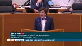 RTL INFO 19H : Gouvernement wallon: le programme PS-MR-Ecolo présenté au parlement
