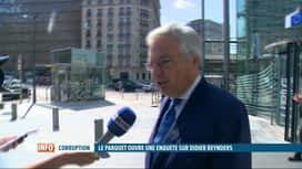 RTL INFO 19H : Didier Reynders réfute les accusations de corruption