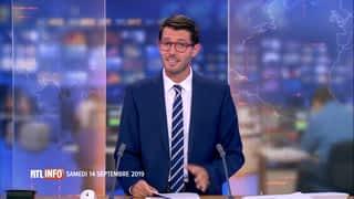 RTL INFO 19H : RTL INFO 19 heures (14/09/2019)