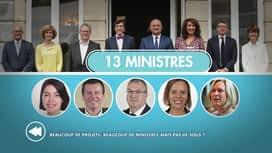 C'est pas tous les jours dimanche : Beaucoup de projets, beaucoup de ministres mais pas de sous ?