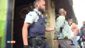 RTL INFO 19H : Les policiers subissent de plus en plus de faits de violence