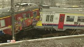 RTL INFO 19H : Rappel de l'accident ferroviaire de Buizingen