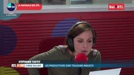 RTL INFO sur Bel RTL : RTL Info 8h du 16/09