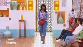 Les Reines du Shopping : Le défilé d'Odette avec un look choisi par Khloudia