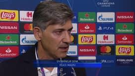 Champions League : 17/09: Felice Mazzu (Genk)