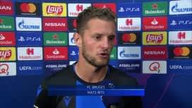 Champions League : 18/09: Mats Rits (FC Bruges)