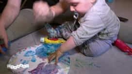 Les mamans : Carnage: Sabrina tente de faire quelque chose de créatif avec Léo