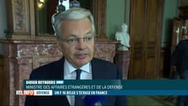 RTL INFO 19H : Crash d'un F16 belge: réaction de Didier Reynders