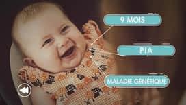 C'est pas tous les jours dimanche : Pia, 9 mois, née avec une maladie génétique, a ému la Belgique entière