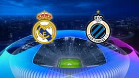 Champions League : 01/10: Real Madrid - FC Bruges