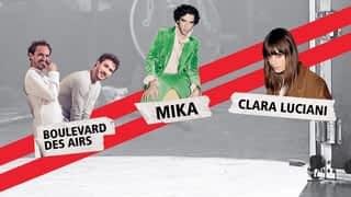 Le son Pop-Rock : RTL2 Pop-Rock Live : Clara Luciani, Boulevard des Airs, Mika  (04/10/19)