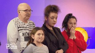 L'immense émotion de la famille de Julie