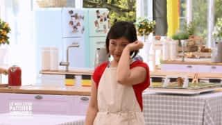 Lu-Anh présente son gâteau en pleurs !