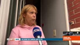 RTL INFO 19H : Accident à Nimy: une journée très particulière pour les riverains