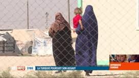 RTL INFO 19H : Une jihadiste belge témoigne des bombardements turcs en Syrie