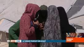 RTL INFO 19H : Des jihadistes tentés de s'enfuir de Syrie grâce à l'offensive turq...