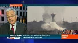 RTL INFO 19H : Didier Reynders commente l'offensive turque en Syrie