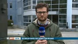 RTL INFO 13H : Près de 200 emplois sauvés chez Thomas Cook !