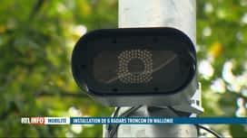 RTL INFO 13H : De nouveaux radars tronçon entrent en action en novembre en Wallonie