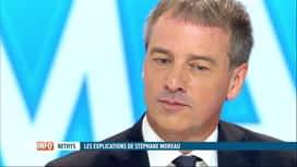 RTL INFO 13H : Nethys: Stéphane Moreau s'est longuement expliqué sur RTL-TVi