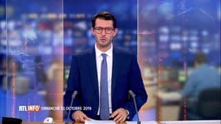 RTL INFO 13H : RTL INFO 13 heures (13/10/2019)