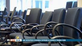 RTL INFO 19H : Le mobilier et le matériel de Thomas Cook mis aux enchères