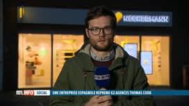 RTL INFO 19H : Reprise de Thomas Cook : qu'en pensent les syndicats ?