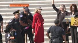 RTL INFO 13H : Extinction Rebellion: Jane Fonda arrêtée et menottée à Washington