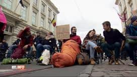 RTL INFO 19H : Action d'Extinction Rebellion au Palais royal