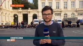 RTL INFO 19H : Action d'Extinction Rebellion au Palais royal, infos en direct
