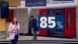 RTL INFO 19H : SNCB: grosses perturbations attendues pendant un mois