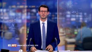 RTL INFO 19H : RTL INFO 19 heures (13/10/2019)